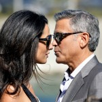 George Clooney and Amal Alamuddin 2