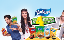 Kurkure Launches 4 Flavors