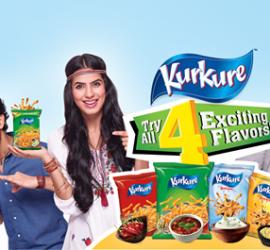 Kurkure Launches 4 New Flavors