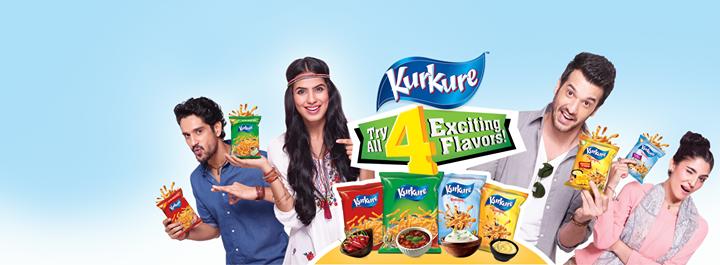 Kurkure Launches 4 Flavors