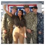 Selfie Moment For Kim Kardashian