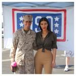 Kim Kardashian At US Army 5