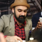 Yasir Cutting NYC Cheesecake