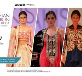 Pakistani Fashion Designers All Set to Mesmerize Doha