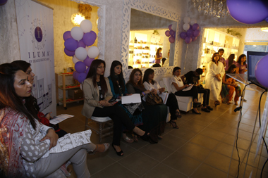Guests attending the presentation