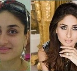 Bollywood Beauties With And Without Makeup