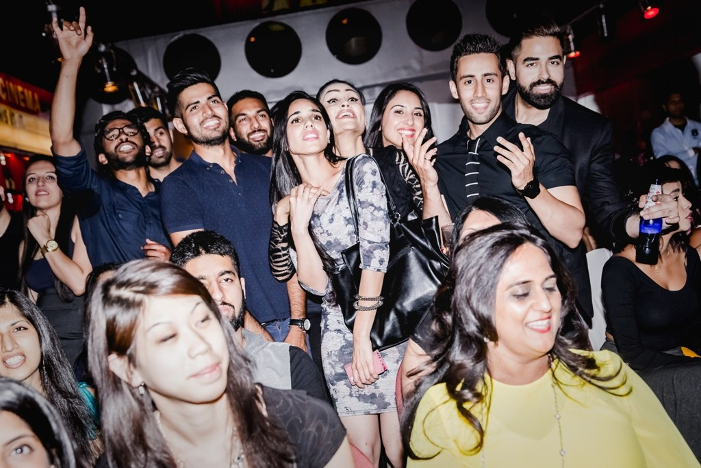 Guests at the launch of party of naQsh's debut album Saptak