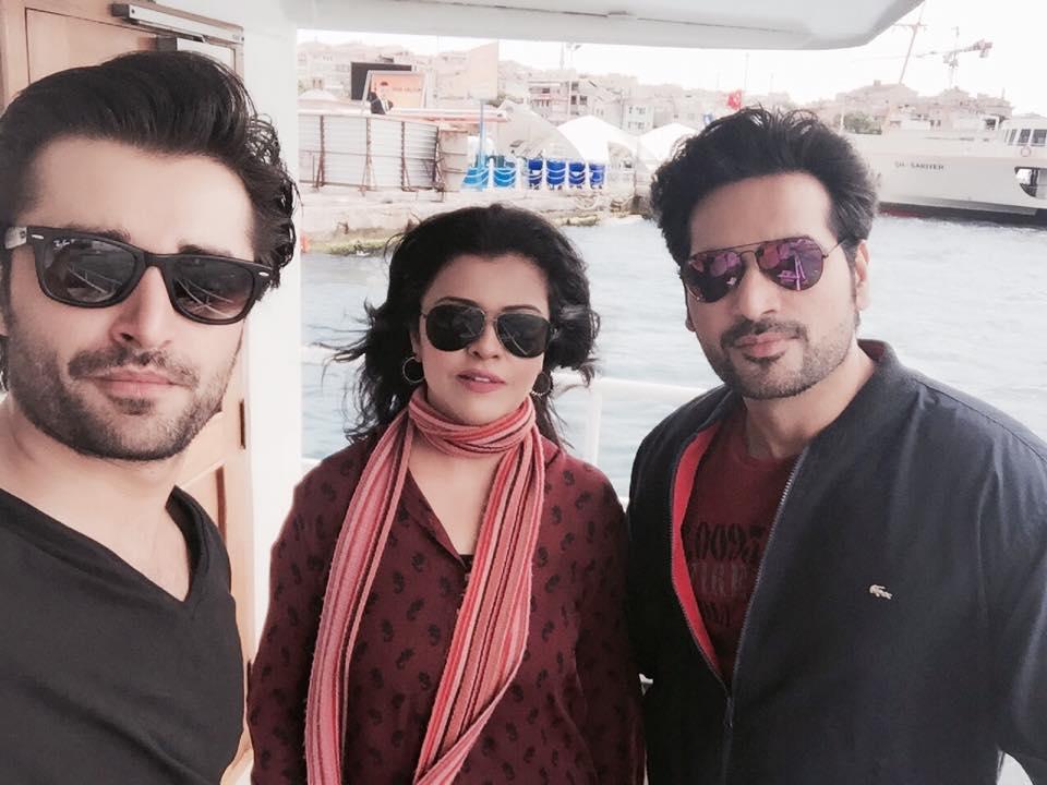 Hamza Ali Abbassi, Maria Wasti & Humayun Saeed