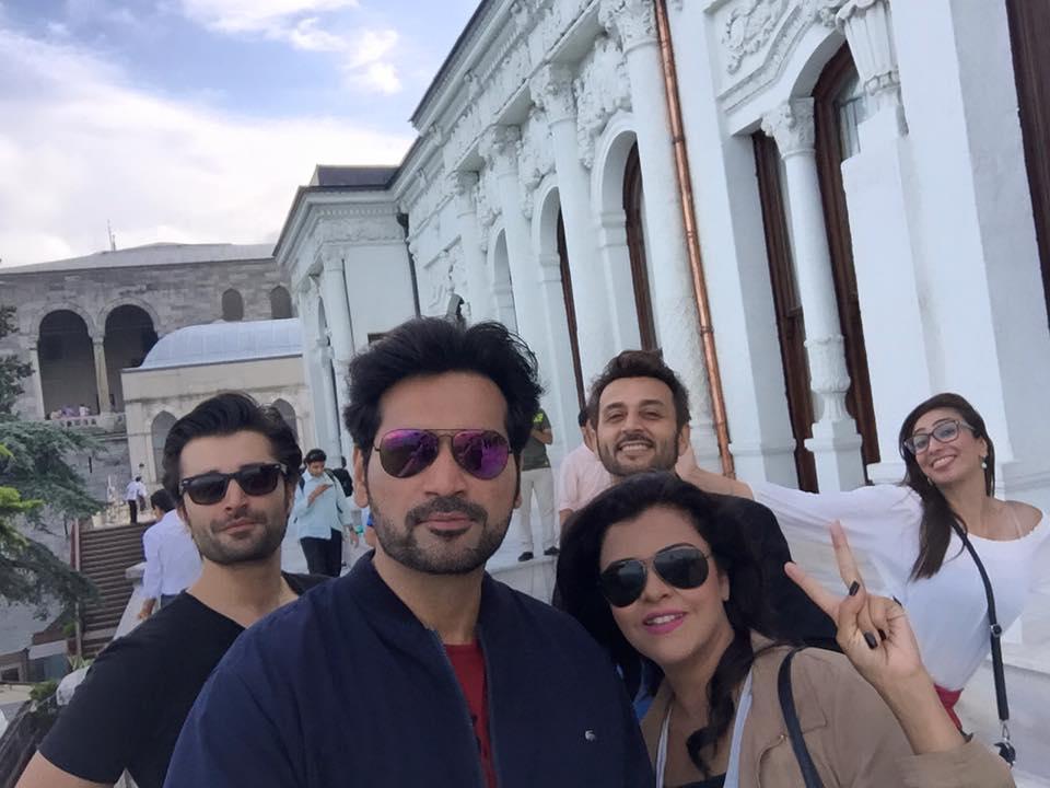 Humayun Saeed, Anoushey Ashraf, Faisal Rehman, Hamza Ali Abbassi and Maria Wasti [2]