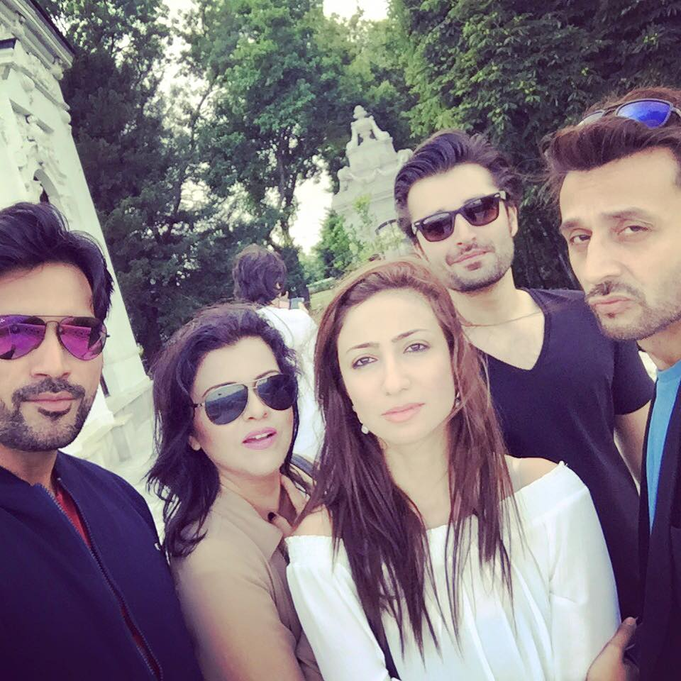 Humayun Saeed, Anoushey Ashraf, Faisal Rehman, Hamza Ali Abbassi and Maria Wasti [3]