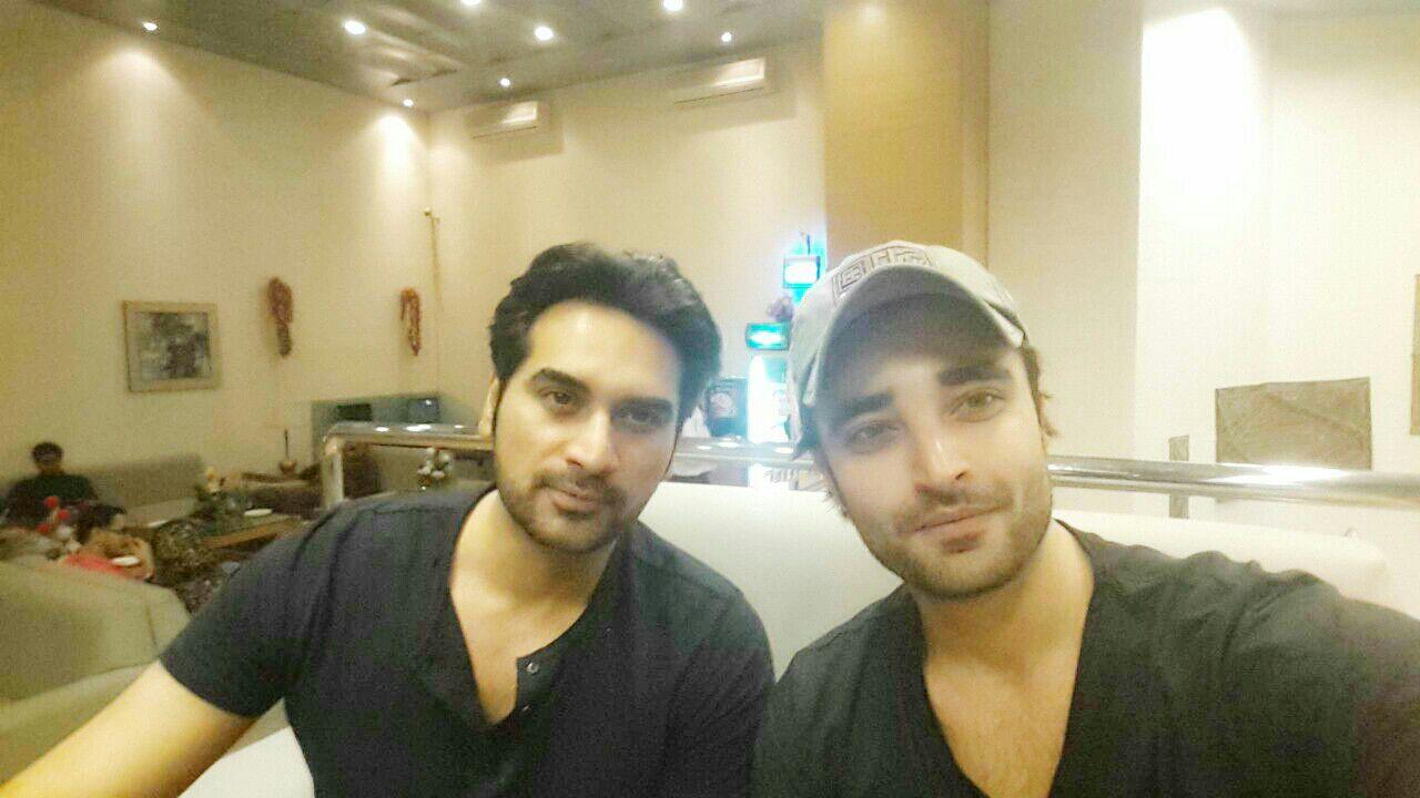 Humayun Saeed and Hamza Ali Abbasi