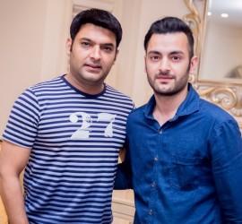 Daksh Kubba of naQsh With Comedian Kapil Sharma