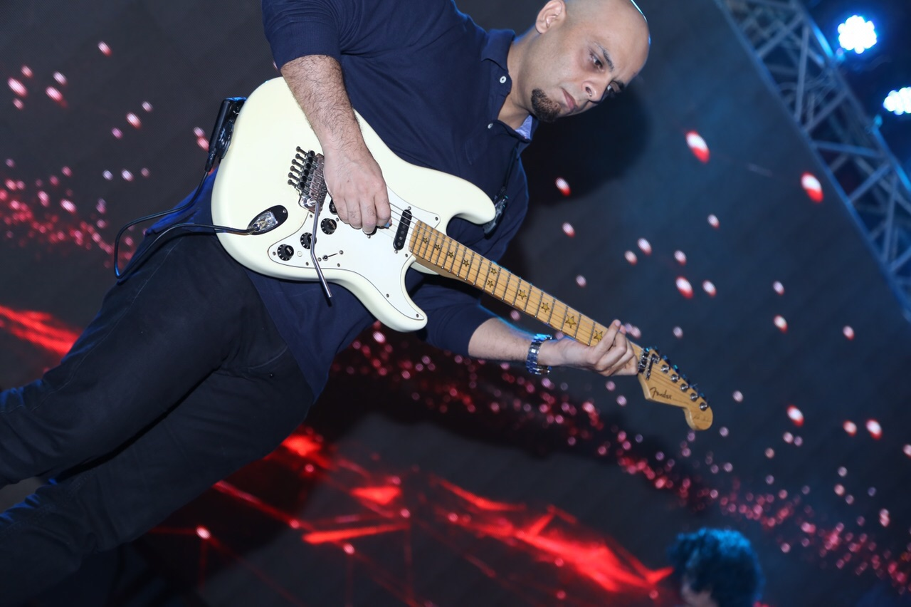 Kashan Admani [Lead guitarist of Mizmaar]