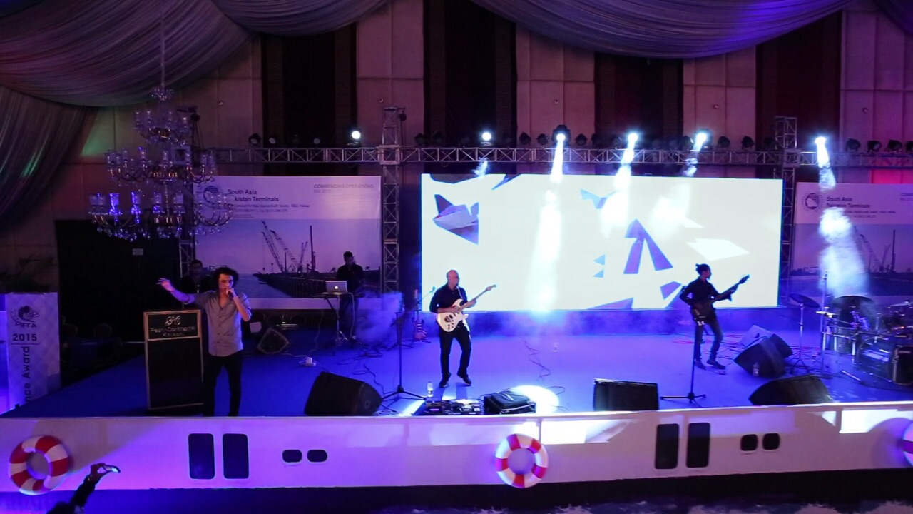 Mizmaar performing at the PIFFA Awards [Karachi] 2