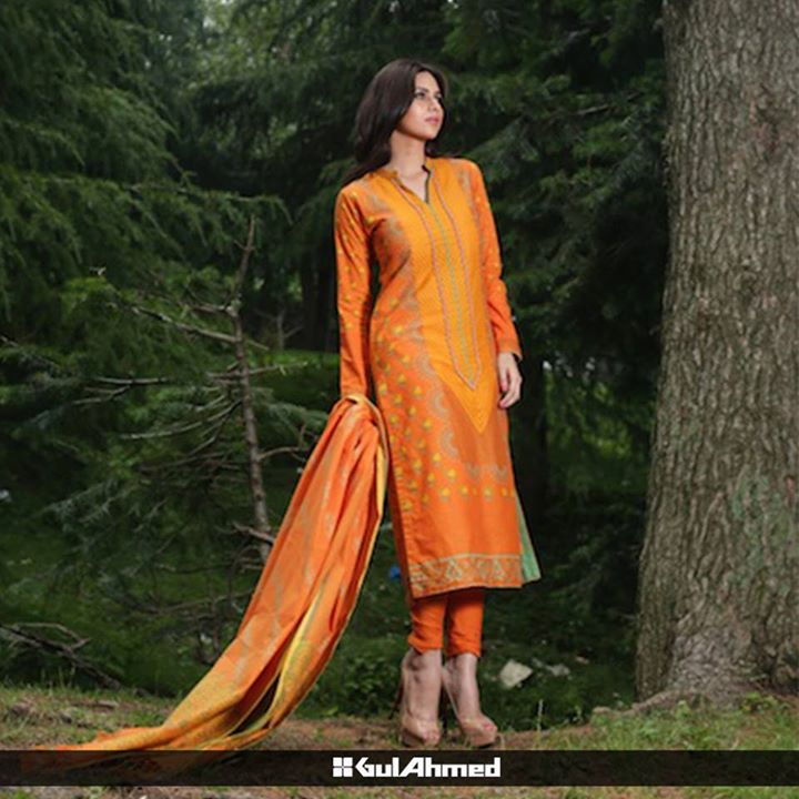 Gul Ahmed Mid Summer Collection 2015 1