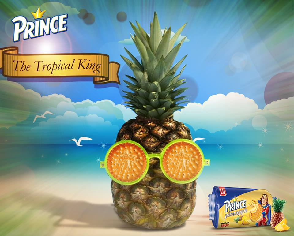 Pineapple Prince Biscuit