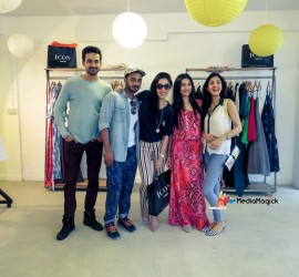 Icon Clothing showcasing Pre-Fall 2015 at Labels Lahore