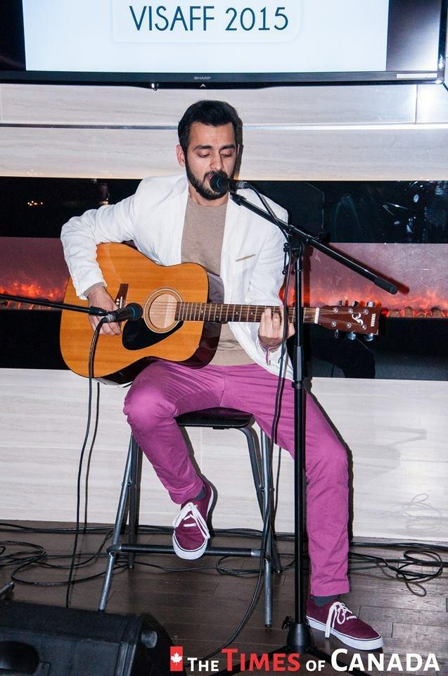 Daksh performing at VISAFF