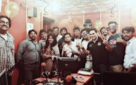 RJ Fasi Zaka, RJ Omer Bangesh with Islamabad Team