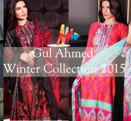 Gul Ahmed Winter Collection 2015 – Volume 1