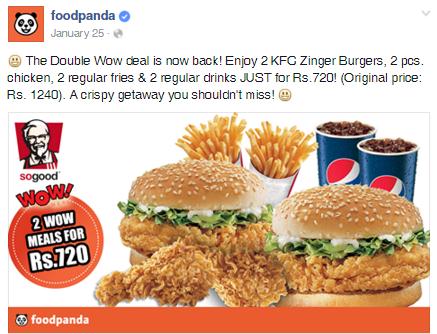 FoodPanda.Pk Deal 1