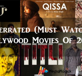 Underrated (Must Watch) Bollywood Movies Of 2015