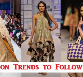 5 Summer Fashion Trends to Follow In Pakistan
