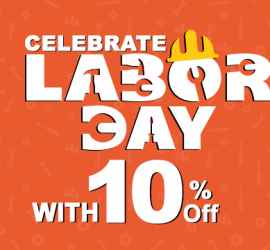 Get 10% Flat On Your Food This Labor Day