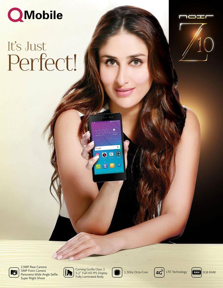 kareena kapoor Q mobile