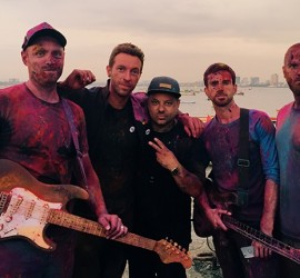 Celebrities Attend Coldplay's Concert – All You Should Know