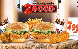 Foodpanda KFC 2Good Deal