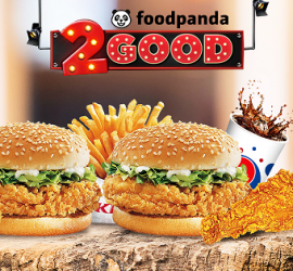 FoodPanda and KFC Bring You #2Good Offer
