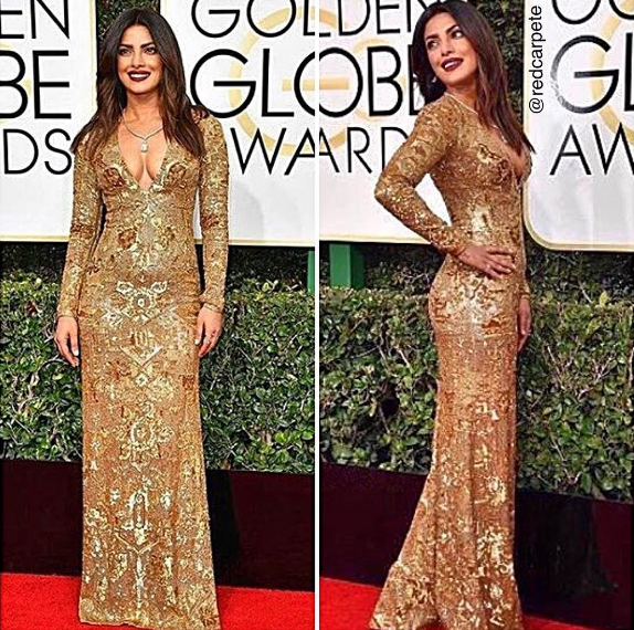 Priyanka Chopra Golden Globes Awards 2017 2