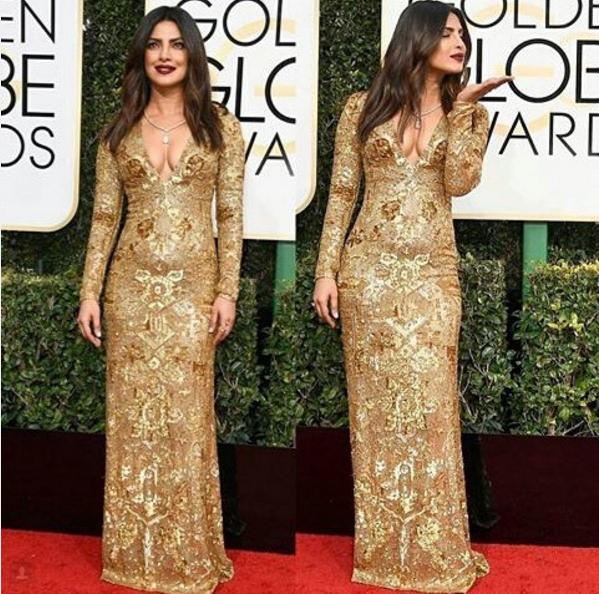 Priyanka Chopra Golden Globes Awards 2017 4