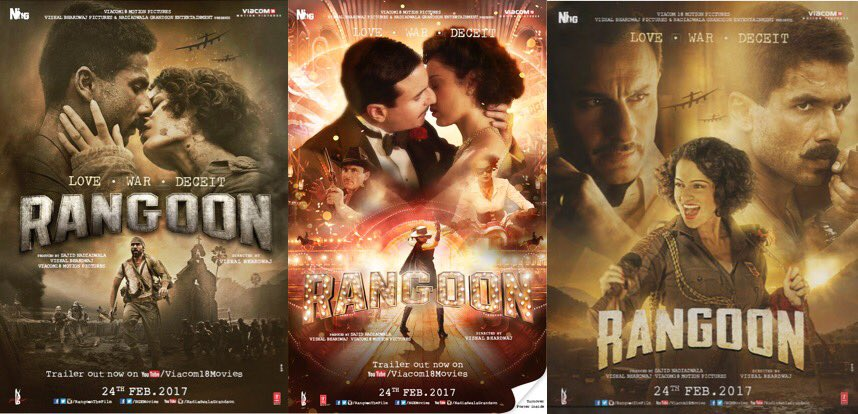 Rangoon (2017) Watch Online Full movie
