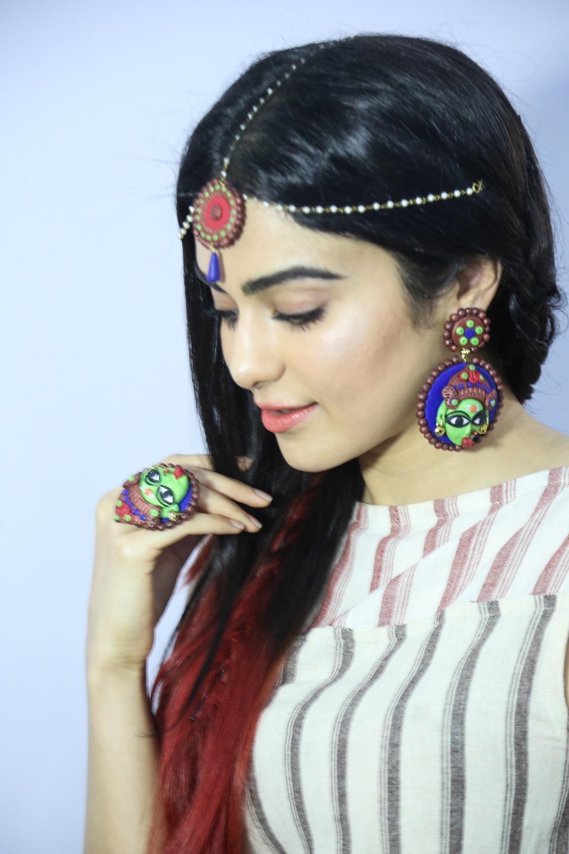 Adah with Jewellery
