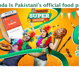 Sponsored: foodpanda Is Pakistani's official food partner for FPSL