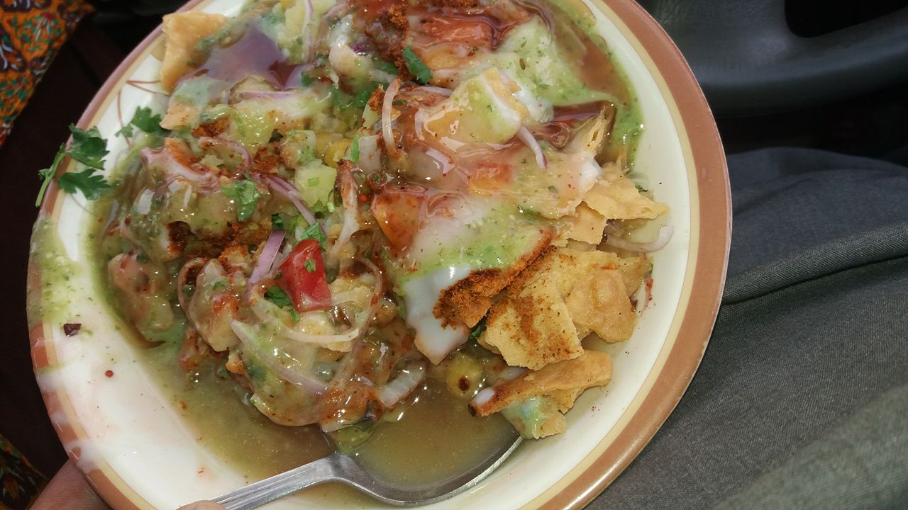 Chana Paapri Chaat