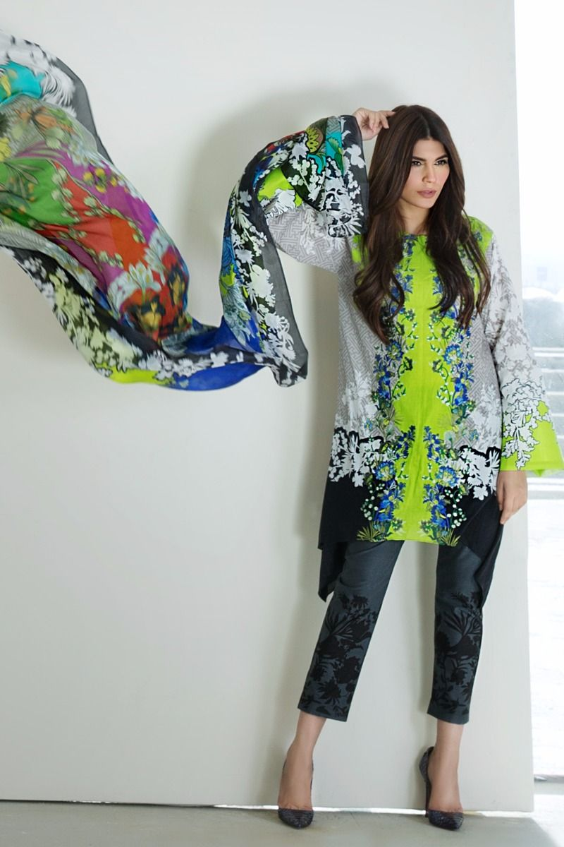 Fashions Brands In Pakistan Sana Safinaz 3