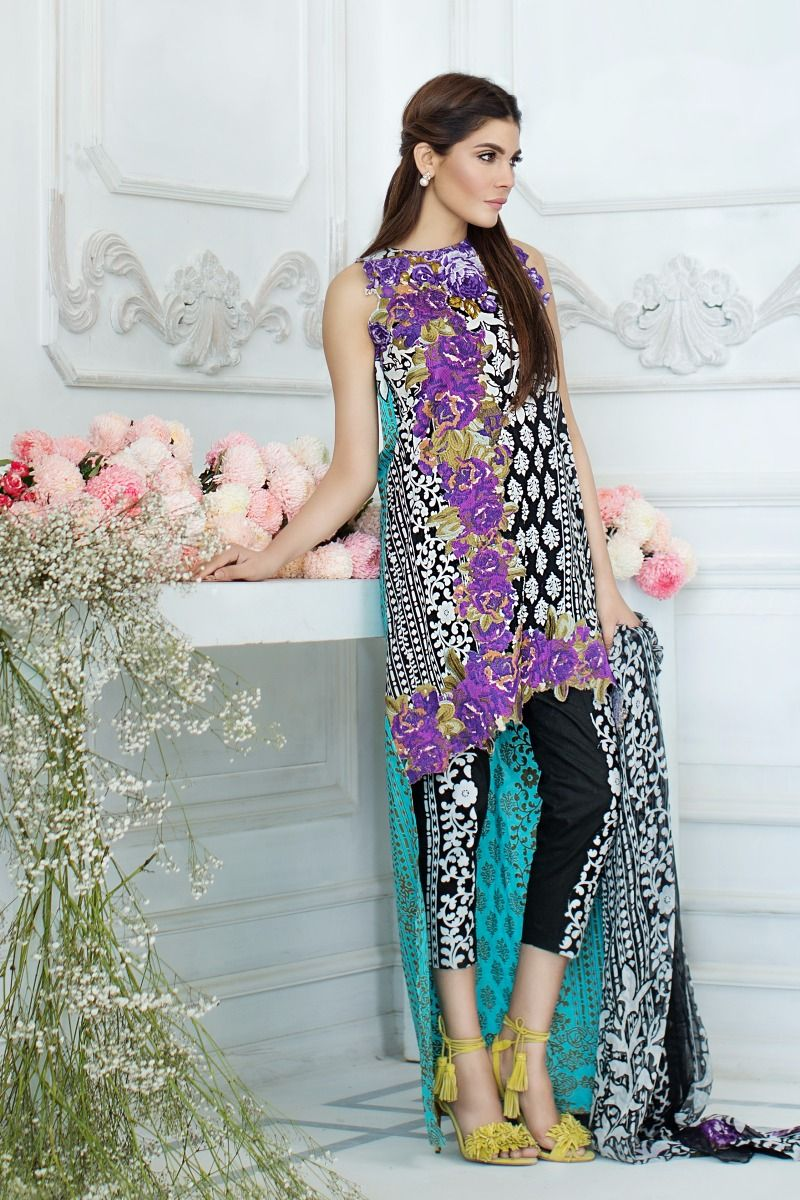 Fashions Brands In Pakistan Sana Safinaz 4
