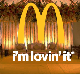 Bride Celebrates After Party At McDonalds After Her Wedding
