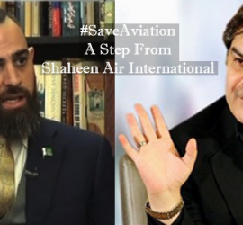Save Aviation A Step From Shaheen Air International