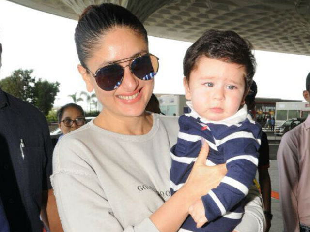 KAreena Kapoor and Taimur ALi Khan 2