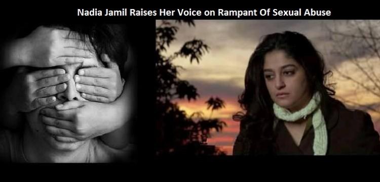Nadia Jamil Raises Her Voice on Rampant Of Sexual Abuse