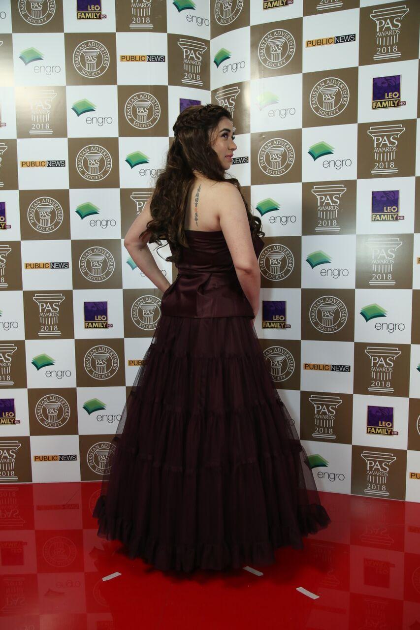 Komal Rizvi - Pas Awards 2018 Mediamagick