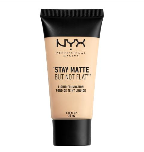 NYX Professional Makeup Stay Matte But Not Flat Liquid Foundation Oily skin