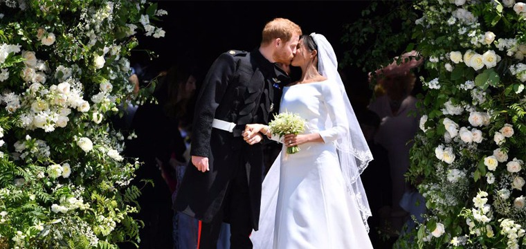 Prince Harry and Meghan Markle Royal Wedding 13