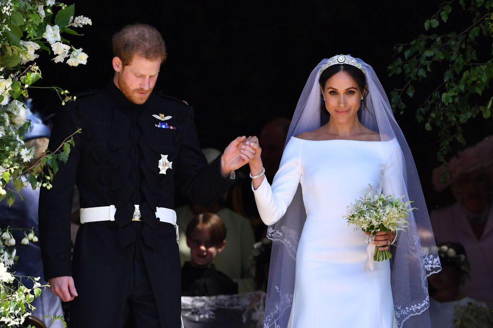 Prince Harry and Meghan Markle Royal Wedding 2c