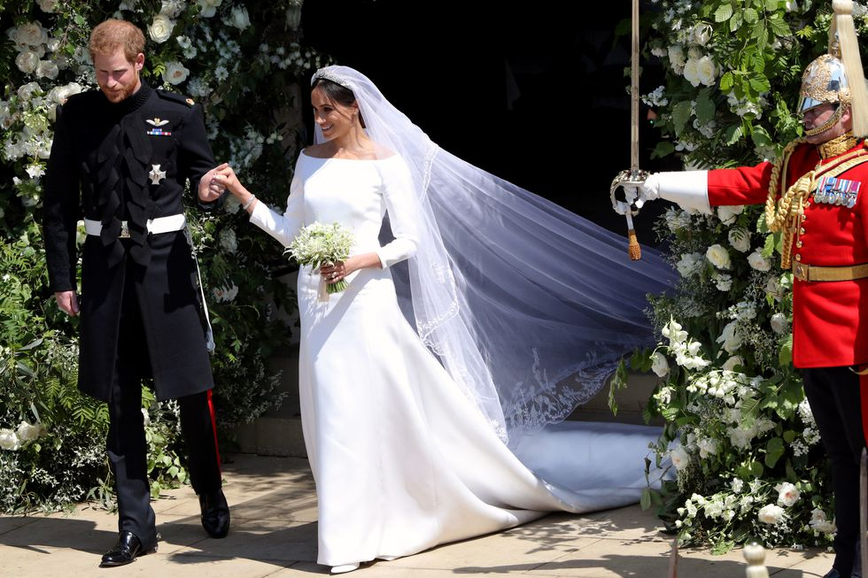 Prince Harry and Meghan Markle Royal Wedding 2d