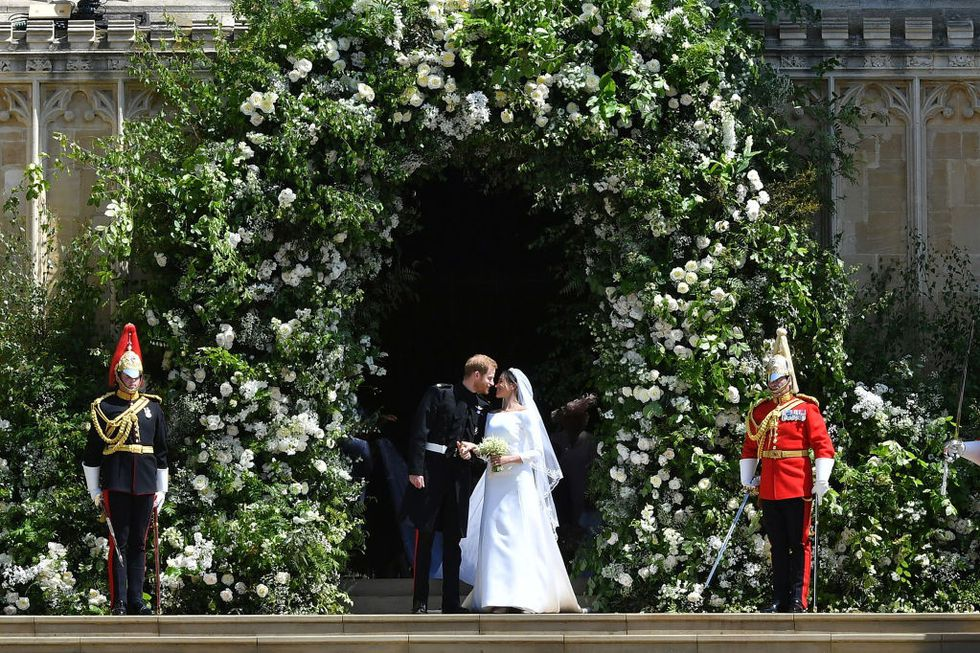 Prince Harry and Meghan Markle Royal Wedding 2e